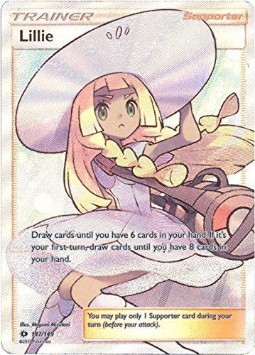 Lillie - 147/149 - Full Art Ultra Rare - Pokemon Sun & Moon