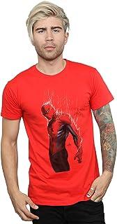 Marvel Men's Spider-Man Web Wrap T-Shirt Red Large