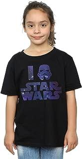niñas I Love Camiseta
