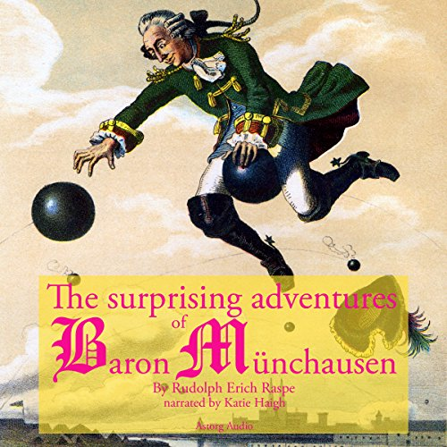 The Surprising Adventures of Baron Munchausen cover art