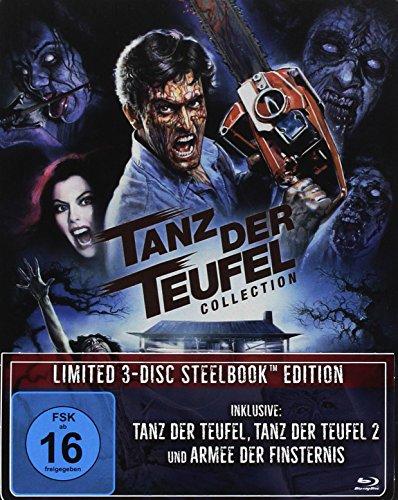 Tanz der Teufel Collection - Limited Steelbook Edition (Tanz der Teufel/Tanz der Teufel 2/Armee der Finsternis) [Blu-ray]