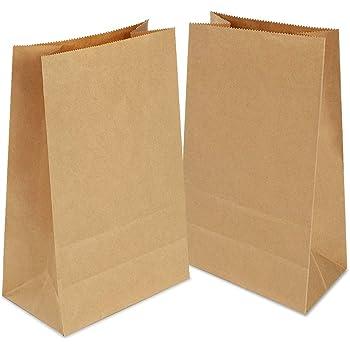 60 piezas Bolsas de Papel Regalo 28x15x9 cm - Bolsa Biodegradable ...