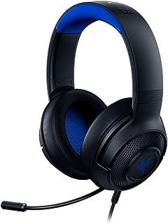 هدست مخصوص بازی Razer Kraken X Ultralight: 7.1 Surround Sound Capable - قاب سبک - میکروفون Cardioid قابل انعطاف - برای کامپیوتر ، Xbox ، PS4 ، نینتندو سوییچ - آبی / مشکی (تمدید شده)