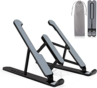 Laptop Stand, Adjustable MacBook Computer Stand 9-Angles & Height Ergonomic Aluminum Laptop Holder,Laptop Stand for MacBoo...