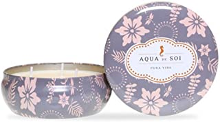 SOI Company Aqua de SOI 100/% Premium Natural Soy Candle Limited Edition Seasonal Scent The SOi Company Mistletoe /& Holly Triple Wick 21 Ounces