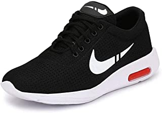 Shoefly Men-1200 Black Top Best Rates Training Shoes,Sports Shoes, Running Shoes for Men,Cricket Shoes,Casual Shoes,Loafers Shoes,Sneakers Shoes,Light Weight, Football Shoes,Comfortable for Men's