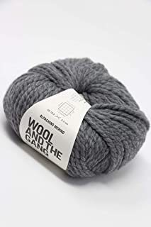 Wool & The Gang - Alpachino Merino Tweed Grey