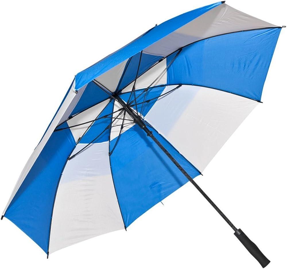 Fiberglass Golf Umbrella Color: Royal Special sale item Blue White Max 77% OFF and