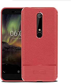 NOKIA 6.1 case, Soft Feeling Full Protective Anti-Scratch&Fingerprint + Scratch Resistant Fit Mobile Phone Case Cover for ...