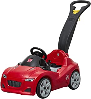 Step2 Whisper Ride Cruiser Ride-On Toy, Red (Amazon Exclusive) (Renewed)