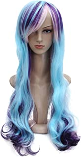 YaRui Multi-color Cosplay Wigs Long Curly for Women 28