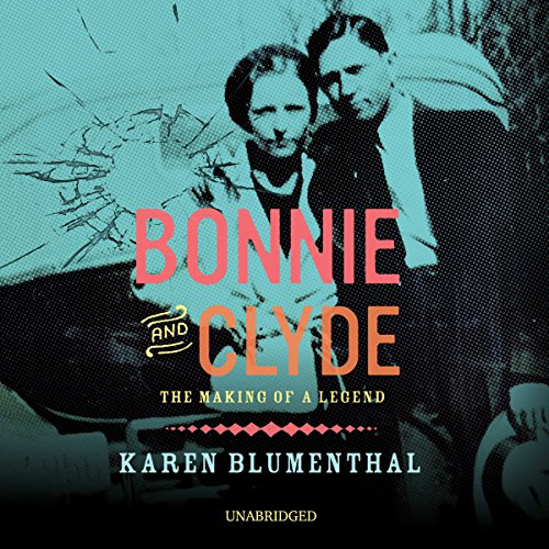 Bonnie and Clyde audiobook cover art