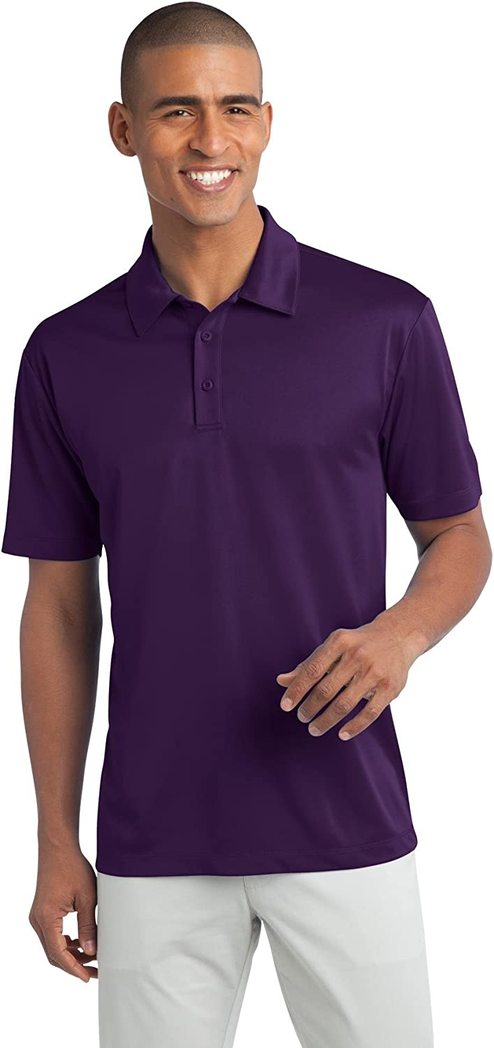 Port Authority Tall Silk Touch Performance Polo 4XLT Bright Purple