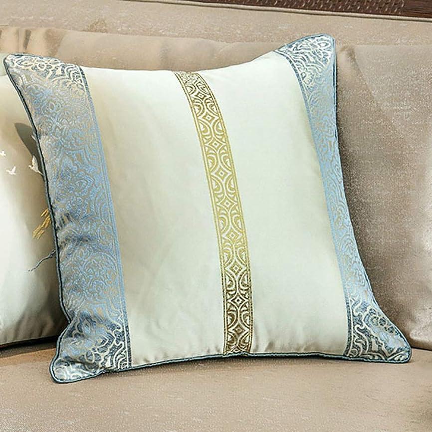 森素子解き明かすコアなし寝具中国の枕、古典ジャカードクッション、選ぶべき4つのスタイル、家の装飾、45x45CM(18×18インチ) (Size : 3)