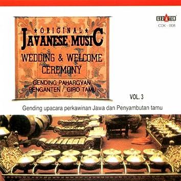Original Javanese Music: Gamelan Music, Vol. 3 (Gending-Gending Klenengan)