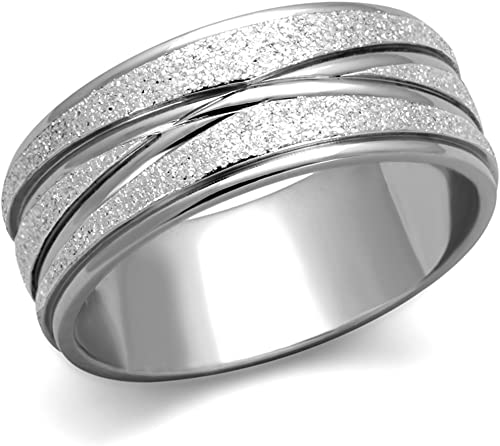 925 plata esterlina Pulgar Dedo Nudo Celta Diseño Continuo Anillo de 5mm de ancho