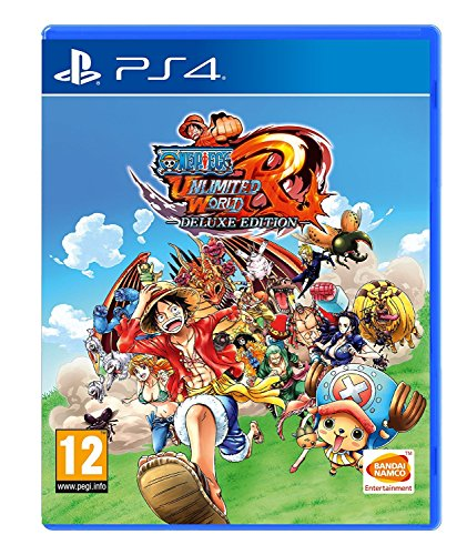 One Piece Unlimited World Red Deluxe Edition - Playstation 4 PS4 [video game]