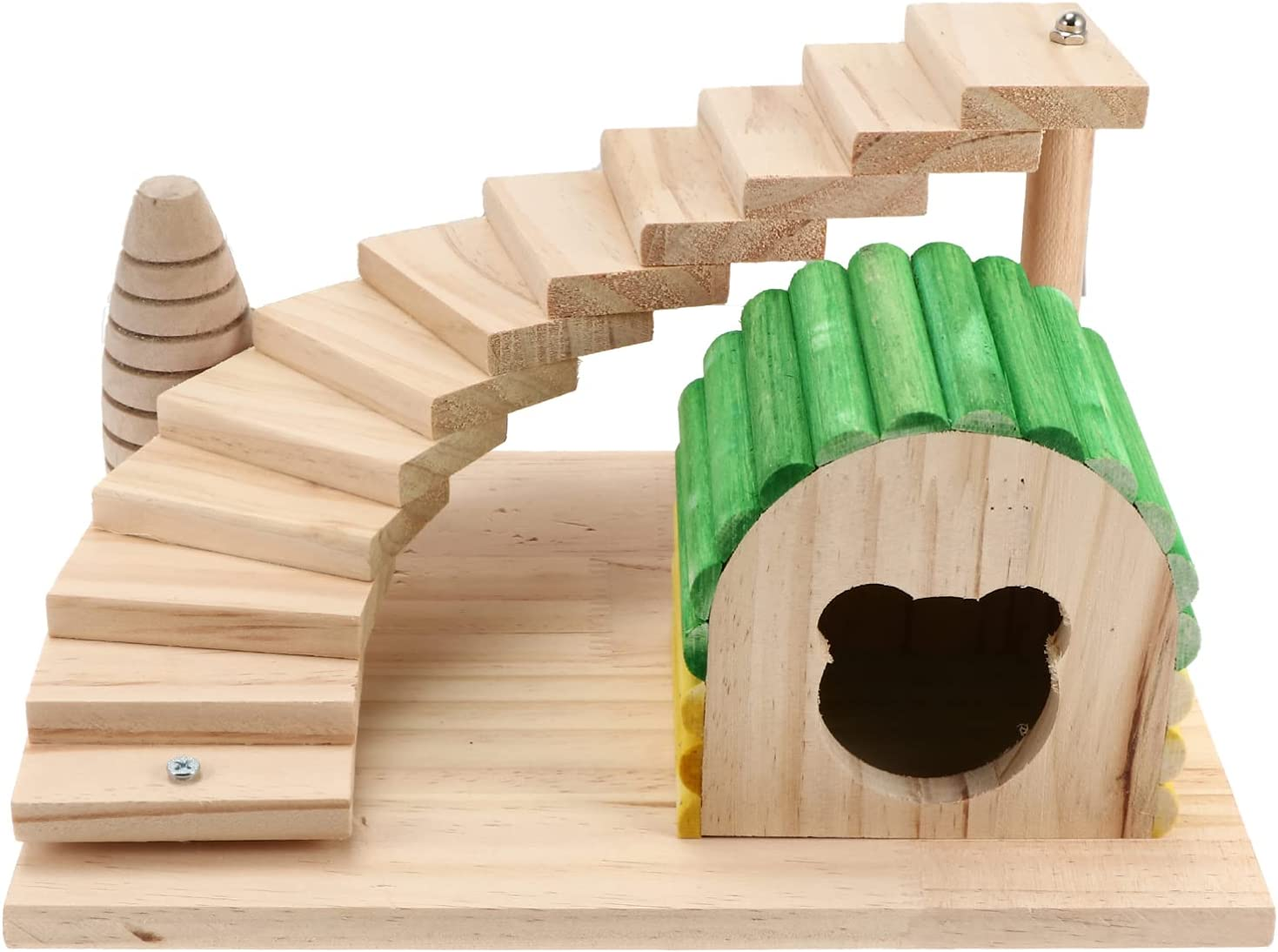 Balacoo Wooden Hamster House Small Excellence Animal Bird Cheap sale Hideout Hid