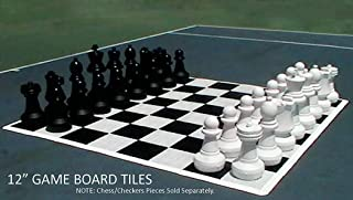 Giant Chess and Checkers Floorboard | Indoor or Outdoor
