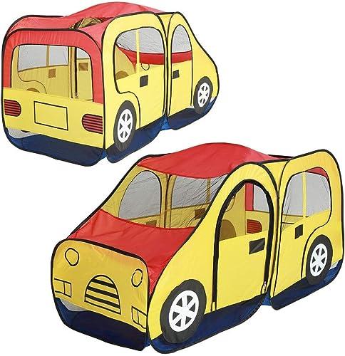 Yhjklm Zelt für Kinder Kinder Spielen Auto tragbare Spiel Spielzeug Haus Ball Pool drinnen & Outdoor Spiel Zelt Zelt für Indoor Outdoor