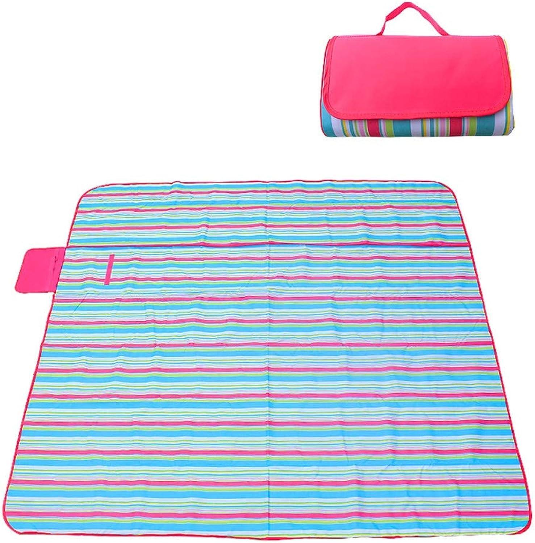 MEIHOME Picknickdecke Strandmatte Feuchtigkeitsimportable Gras Matte im im im Freien Picknick Matte imprägniern Faltbare 200  190CM, D. Für Den Strand, Camping Reisen B07GKB1B2Q  Meistverkaufte weltweit f1228e