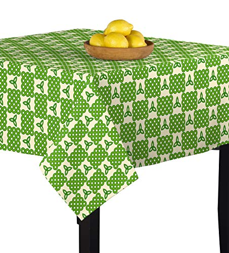 Fabric Textile Products Celtic Knots & Lattice Tablecloth 70'x70'