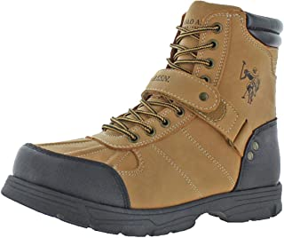 Mens Connor Duck Toe Padded Collar Combat Boots