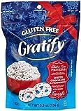 Gratify Gluten Free Pretzels-White Chocolate & Peppermint Covered Twists-5.5 oz