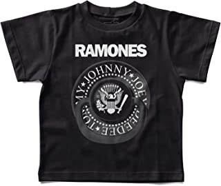 Camiseta Infantil Ramones Chupeta, Let's Rock Baby, Preto