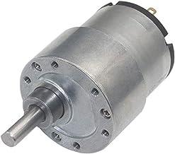 Leloo Lruirui-Motor DC högt vridmoment växelbox elektrisk motor, JGB37-520 37 mm 12 V DC 7 RPM till 960 RPM, gör-det-själ...