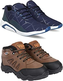 ARMADO Combo Pack of 2 Casual, Sneaker and Loafer Shoes for Men