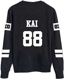 EXO Sweater Long Sleeve Hoody Pullover Sweatershirt