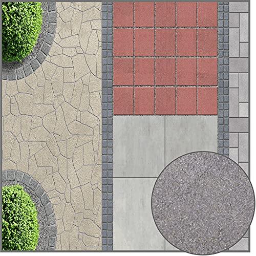 Terralith Drän Pflasterfugenmörtel 26 kg -granit grau-