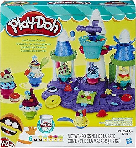 Play-Doh Hasbro B5523EU4 - Eiscreme Schloss, Knete