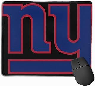 utong New York Giants Logo Gaming Alfombrilla de ratón Computadora Almohadilla de Escritorio Bordes cosidos de Goma Antideslizante