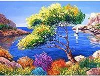 大人のためのジグソーパズル1000ピース-海辺の風景-キッズパズルおもちゃ教育パズルジグソー