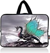 AUPET Cool Dragon Universal 7~8 inch Tablet Portable Neoprene Zipper Carrying Sleeve Case Bag