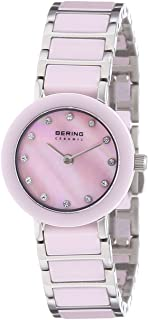 BERING Time 11422-999 Women Ceramic Collection Watch with Stainless-Steel Strap and Scratch Resistent Sapphire Crystal. Designed in Denmark