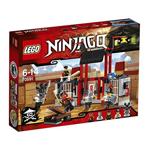 LEGO ninjago Set Costruzioni, Fuga dalla Prigione di Kryptarium, Colore Vari, 70591