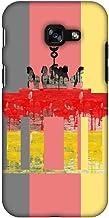 AMZER Ultra Slim Designer Snap On Hard Shell Case for Samsung Galaxy A3 2017 - The Brandenburg Gate - Germany Flag