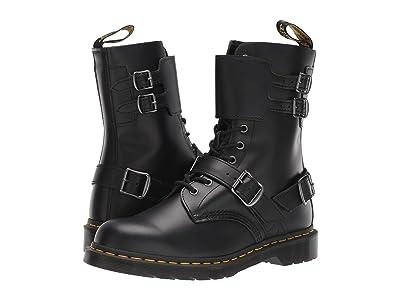Dr. Martens 1490 Joska Smooth (Black Smooth) Shoes