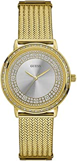 Guess Women's Silver Dial Stainless Steel Band Watch - W0836L3