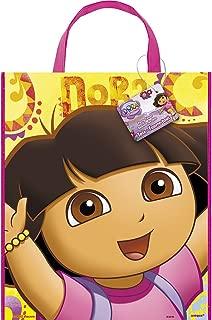 Large Plastic Dora the Explorer Goodie Bag, 13
