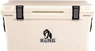 KONG Coolers | 70 Quart Rotomolded | Proudly Made in The USA | Durable, Safe, No-Slip Feet, Extended Ice Retention Cooler