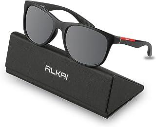 9d861cebe305 ALKAI Polarized Sports Sunglasses for Men Women Phoenix Cycling Sunglasses  for Golfing Driving Running Fishing,