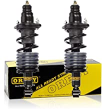 OREDY 2PCS Rear Driver & Passenger Side Complete Struts Assembly Rear Struts Shock Absorber Coil Spring Assembly Kit 95000 Compatible with Acura RSX Coupe 2002 2003 2004 2005