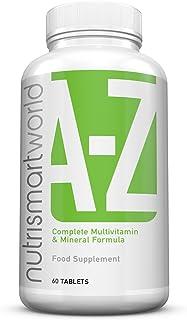 Fórmula Multivitamínica con Minerales - 31 Vitaminas y Minerales - Ahora con Tumeric. Ácido alfa lipoico & Extracto
