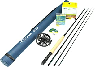 Rajeff Sports Echo Base 376-4 Fly Rod Outfit (3wt, 7'6