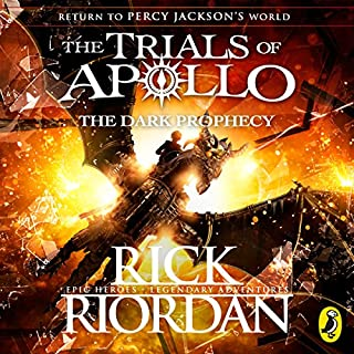 The Dark Prophecy     The Trials of Apollo, Book 2              By:                                                                                                                                 Rick Riordan                               Narrated by:                                                                                                                                 Robbie Daymond                      Length: 12 hrs and 32 mins     79 ratings     Overall 4.7