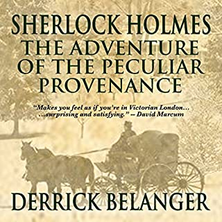 Sherlock Holmes: The Adventure of the Peculiar Provenance cover art